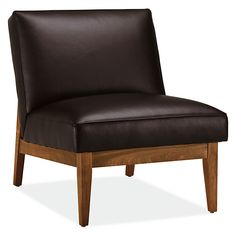Edwin Leather Chair - Modern Accent & Lounge Chairs - Modern Living Room Furniture - Room & Board