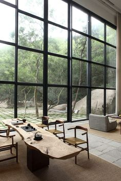Returning Hut 02 850x1276 FMX Interior Design Creates a Private Residence in Southwest China