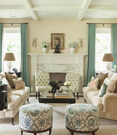 """Bravo's Million Dollar Decorator Kathryn M Ireland has teamed up with Scalamandre to create a collection that is, """"beautiful and comfortable."""""""