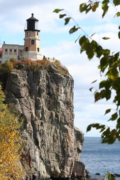 Split Rock Light House, north of Duluth, MN. After you visit Duluth, take a ride up the Northshore and explore, explore, explore!