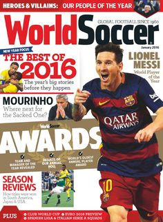 World soccer january 2016 uk by Juan Iglesias