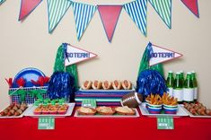 Super Bowl Party Ideas with Free Printables