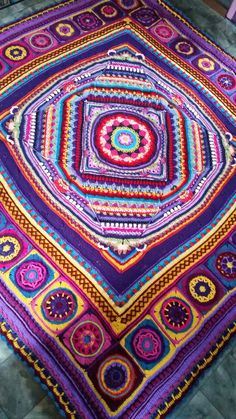 https://flic.kr/p/DMCneL | My crochet | Crochet by Aislin Sophie's Universe Cal with circles of the sun