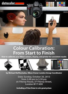 Colour Calibration, from start to finish - A Definitive Seminar by Michael Eleftheriades Sun 20/10/13