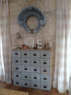 Mon meuble à tiroirs…