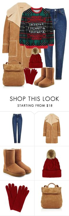 """№41"" by irina-barylchuk ❤ liked on Polyvore featuring Topshop, M.i.h Jeans, UGG, L.K.Bennett and Whistles"