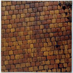 Study from the Red Causeway Series Boyle Family, Brick Tiles, Surface, Study, Artists, Texture, City, Red, Photography