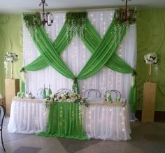 Church Altar Decorations, Tea Party Decorations, Wedding Stage Decorations, Backdrop Decorations, Bridal Shower Decorations, Diy Wedding Ring, Desi Wedding Decor, Wedding Reception Backdrop, Backdrops For Parties