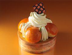 生ケーキ かぼちゃのプディングタルトを発売しました。
