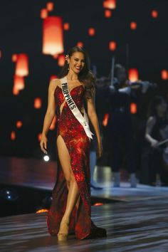 Image result for catriona gray gown