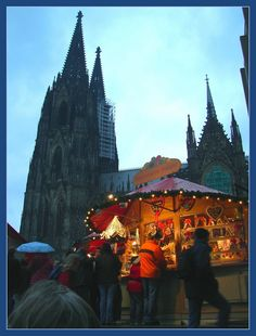 Christmas Market Cologne, Germany