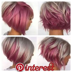 The pink 😍 pixie hair color, hair colour, haircut and color, pink hair, bl Pretty Hairstyles, Girl Hairstyles, Hairstyle Short, Natural Hairstyles, Short Hair Cuts, Short Hair Styles, Short Pixie, Fun Hair Cuts, Haircut And Color