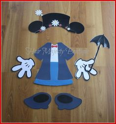 Minnie+Mouse+as+Mary+Poppins+Body+Part+by+HairMajestyBoutique,+$16.00