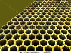 stock-photo-abstract-d-pattern-of-bee-grate-honeycomb-110495375.jpg 450×342 pixels