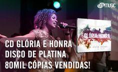 CD Glória e Honra recebe disco de platina pelas 80 mil cópias vendidas! http://www.onimusic.com.br/oninews/oninews_dt.aspx?IdNoticia=268 #onimusic #niveasoares #gospel #musicagospel #discodeplatina #gloriaehonta