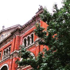 The exterior of the Victoria & Albert Museum.. #london #vanda #touristattraction #museum #historic #history #victoriaandalbertmuseum #victoriaandalbert #decorative #skylight #pattern #architecture #heritage #tourism #england #artifacts #art #decorative #decorativeart #exhibition