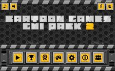 Cartoon Games GUI Pack 2 by pzUH on @creativemarket