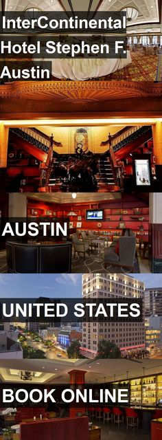 InterContinental Hotel Stephen F. Austin in Austin, United States. For more information, photos, reviews and best prices please follow the link. #UnitedStates #Austin #travel #vacation #hotel