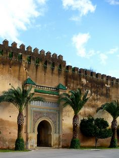 Meknes, one of the four royal cities of MoroccoI was there in 1979