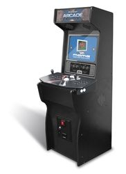 Courtesy of www.recroommasters.com a DIY arcade cabinet...PC/Mac compatible, and works with almost any generation of console. This will be mine, oh yes, it will be mine :P