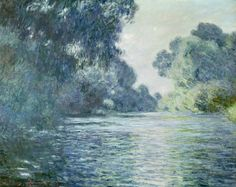 Claude Monet - Branch of the Seine near Giverny (1897)