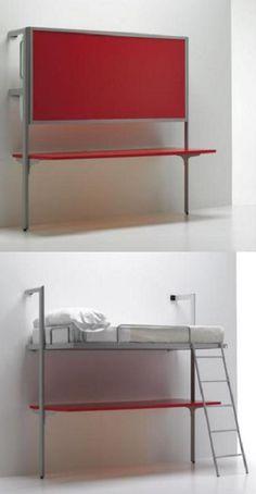 cama con escritorio de Sellex