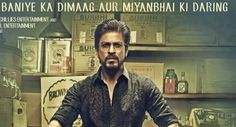 """Bollywood superstar Shah Rukh Khan today unveiled the first poster of his fortcoming film """"Raees"""""""