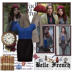 Belle- Of Once Upon A Time, created by opelazar on Polyvore