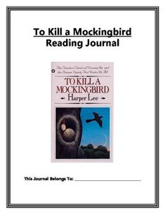 tkam reading response Sample reader response post for to kill a mockingbird i find scout, the narrator, to be a delightful character.
