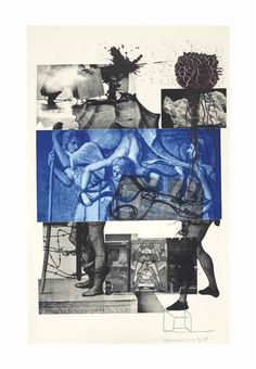 Robert Rauschenberg, Bellini from Bellini Series … Collages, Collage Art, Robert Rauschenberg, James Rosenquist, Neo Dada, Pop Art Movement, Photocollage, A Level Art, Bedroom Art