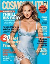 Jessica Alba - Cosmopolitan Magazine [United States] (March 2005)