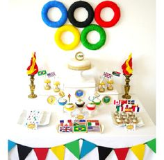 Olympics Sports (or international themed) Party