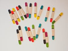 DIY Sharpie and Popsicle Stick Dominos