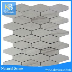 2017 new design wooden series gray long hexagon mosaic wall tile Mosaic Wall Tiles, Gray, Design, Home Decor, Decoration Home, Room Decor, Grey, Home Interior Design