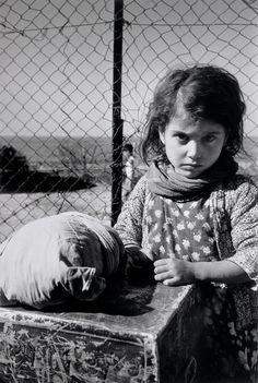 Haifa 1949-50 Yemeni Jewish girl in a transit camp for new immigrants (Rober Capa)