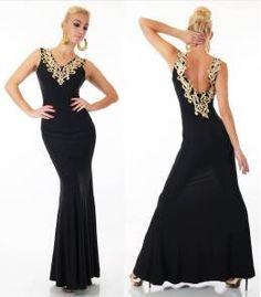 94cc4afc59c3 ΦΟΡΕΜΑΤΑ ΒΡΑΔΙΝΑ - Modys fashion e-shop. Βραδινό μάξι φόρεμα με υπέροχη  πλάτη-μαύρο