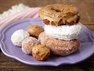 Sweet-Potato Doughnuts 3 Ways