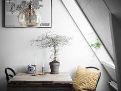 Interiors by . Interior Exterior, Home Interior Design, Loft Spaces, Living Spaces, Home Board, Compact Living, Kitchen Corner, Scandinavian Living, Dream Decor