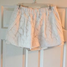 Never Worn Annie Griffin Lace Shorts SZ S Look brand new! Women's lined lace shorts. Annie Griffin size small. Has pockets and layered accent on side. Annie Griffin Shorts