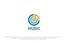 Music Sound Beat Logo @creativework247