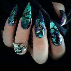 Cute Acrylic Nail Designs, Cute Acrylic Nails, Nail Art Designs, Nails Design, Salon Design, Dope Nails, Swag Nails, Fun Nails, Coffen Nails