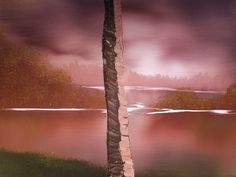 4 Easy Steps for Painting Realistic Tree Trunks - Paintings by BAF Simple Oil Painting, Acrylic Painting Tips, Acrylic Painting For Beginners, Painting Tutorials, Acrylic Tutorials, Acrylic Brushes, Knife Painting, Pour Painting, Abstract Paintings
