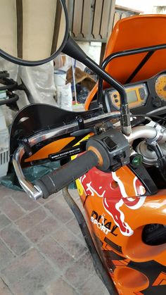 #Midwestountainengineering #ktm640adv clutch lever