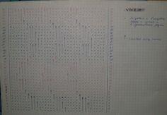 Схема к кофточке миссони черно бежевая секционка