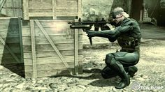 metal gear solid 4 snake - Google Search