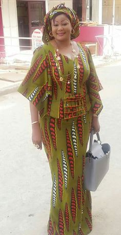 Special Ankara Materials Worn by the Typical African Mothers - WearitAfrica Latest African Fashion Dresses, African Print Dresses, African Print Fashion, Africa Fashion, African Dress, African Clothes, Ankara Fashion, African Attire, African Wear