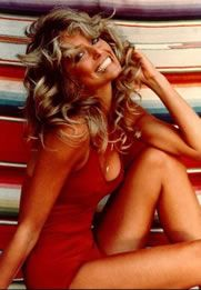 How Female Body Shape Changed in the 20th Century // 1970s Farrah Fawcett, Actress    BMI of US women (aged 20-74): 25.3    Also: Jacqueline Bisset, Bo Derek, Brooke Shields.