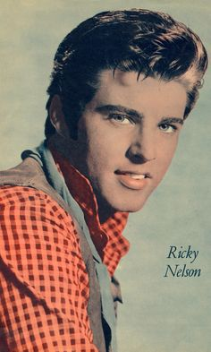 RICKY NELSON Australian MOVIE NEWS pin-up clipping 1950's (minkshmink)