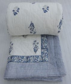 Hand Block Print Jaipuri Razai. Indian Hand Block Print Cotton Filling Kantha Quilt Handmade Jaipuri Razai Queen. Item - 1 Pcs Quilt, Jaipuri Razai. Tie Dye Shibori Print Jaipuri Razai. You can use this Quilt (Jaipuri Razai) Home Guest Room, Hotal, Guest House, etc. | eBay!
