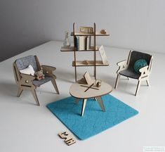 Mali, Toy Furniture For Building Minds - Petit & Small